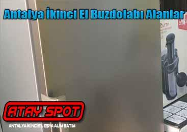 Antalya Buzdolabı Alan Yerler