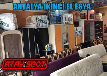 Antalya İkinci El Eşya Alanlar