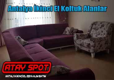 Antalya İkinci El Koltuk Alanlar